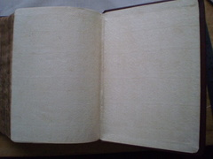 1610 Bible - New hand made endpapers